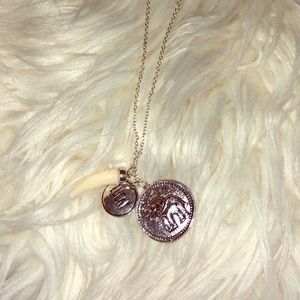 Jewelry - Bohemian lucky elephant necklace *NEVER WORN